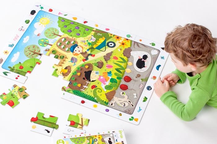 Czuczu - Puzzle obserwacyjne Ogród