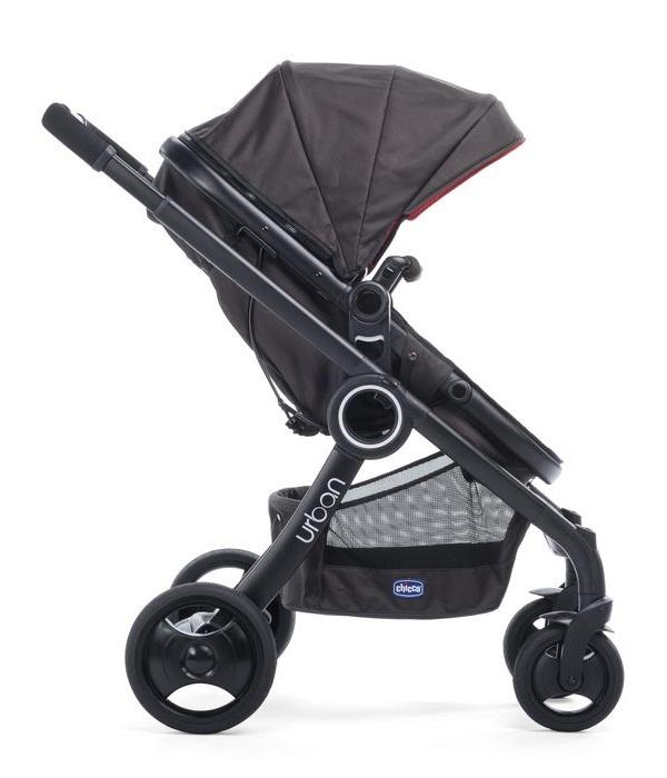 Wózek dziecięcy 4w1 Urban Stroller Plus Crossover+ Color Pack+Fotelik 0-13 kg + Adaptery Chicco