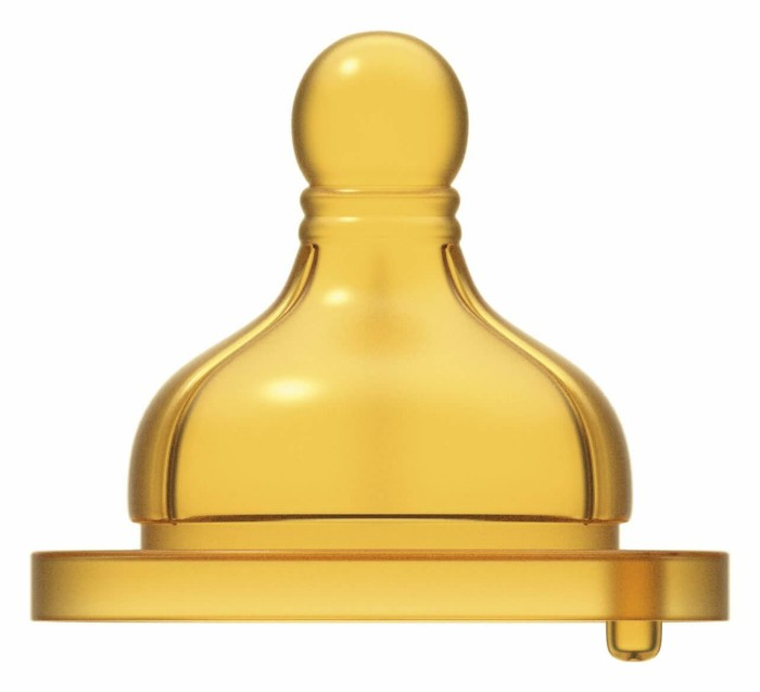 Smoczek na butelkę Weelbeing silikonowy 0m+ 2 sztuki, Chicco