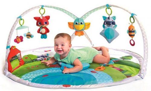 Gimnastyka dla bobasa z pałąkami - Zabawa na łące, Tiny Love