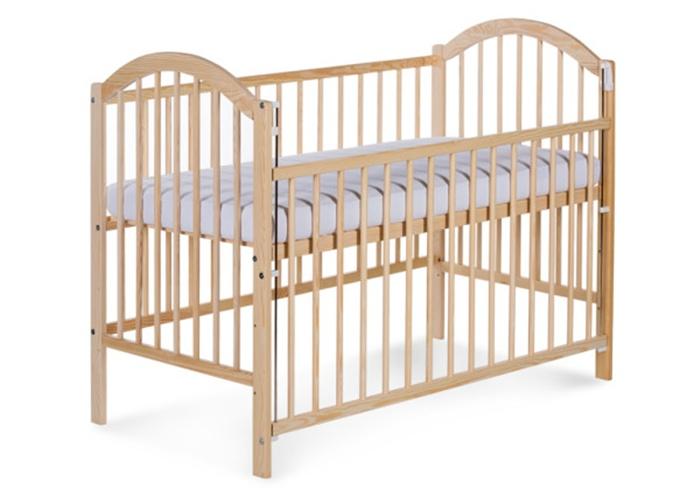 Łóżeczko dziecięce 120 x 60 z opuszczanym bokiem Ewelina I Klupś