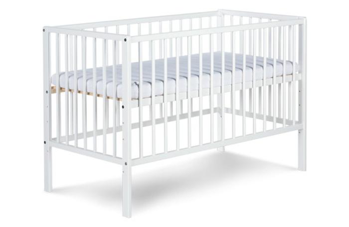 Radek X Klupś drewniane łóżeczko dziecięce 120x60 cm