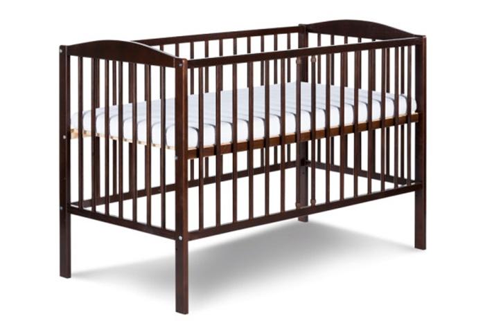 Łóżeczko drewniane dla dzieci 120x60 Radek II Klupś