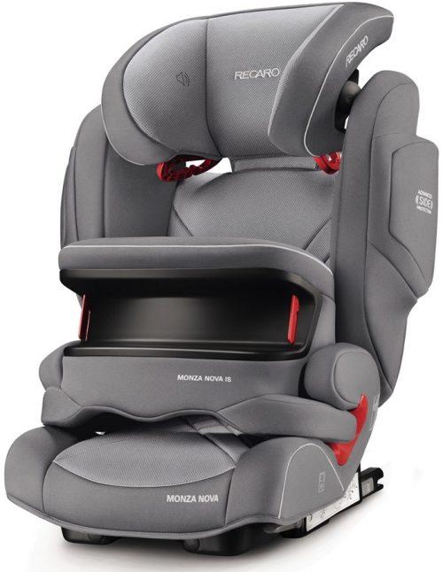 Bezpieczny fotelik samochodowy 9-36 kg Recaro Monza Nova IS z osłoną tułowia