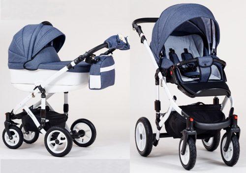 Wózek dziecięcy głęboko-spacerowy 2w1 Magnetico, Paradise Baby