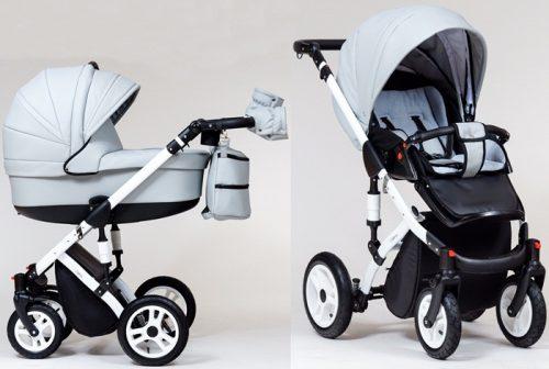 Wózek dziecięcy głęboko-spacerowy 2w1 Euforia, Paradise Baby