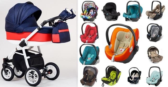 Wózek dziecięcy głęboki Magnetico Paradise Baby + fotelik z testami ADAC 0-13 kg