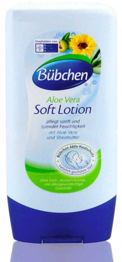 Delikatne mleczko nawilżające dla niemowląt Bubchen 300 ml