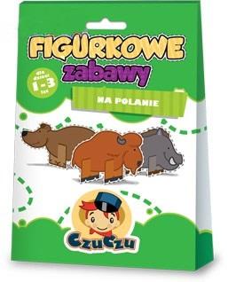 Figurkowe zabawy dla dzieci CzuCzu 1-3 lat - na polanie - figurki do kolorowania