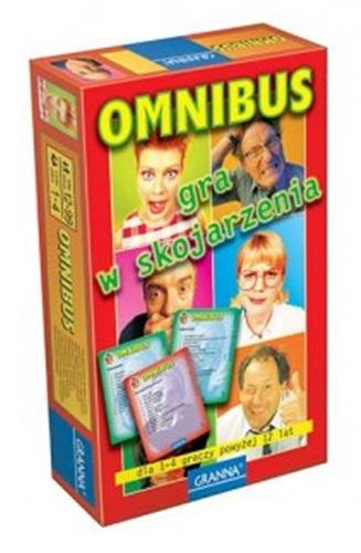 Kieszonkowa gra rodzinna Omnibus firmy Granna – gra w skojarzenia 12+