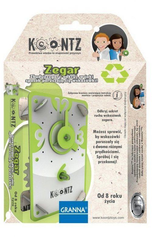 Edukacyjne puzzle 3D - Zegar Granna Koontz - od 8 lat