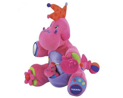 *Jestem szefową w akcji - różowa smoczyca z interaktywnymi elementami K's Kids Lady Boss
