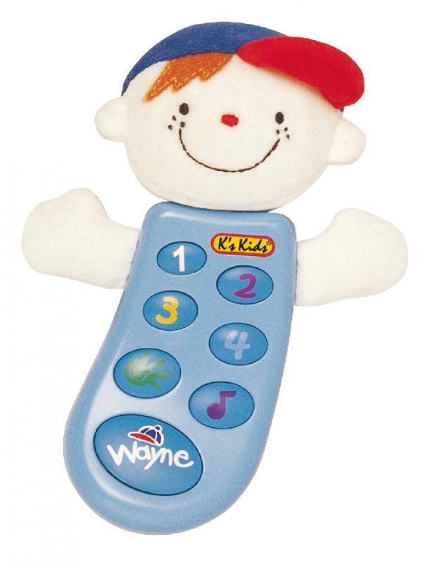 Grający telefon edukacyjny dla dzieci Wayne K'S KIDS