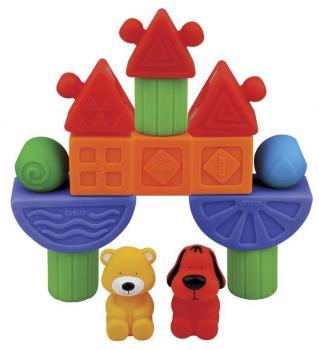 Gumowe klocki - układanka dla dzieci Plac Zabaw KsKids