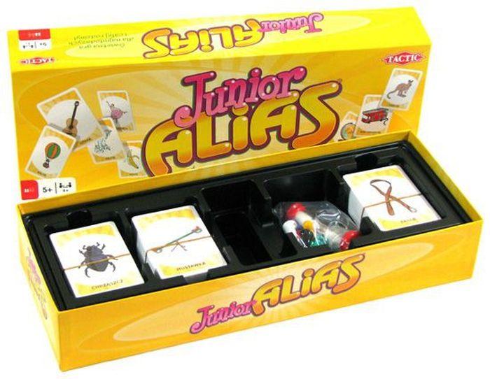 Tactic gra słowna dla dzieci Junior Alias