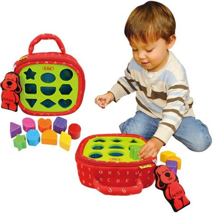 K'S KIDS sorter dla dzieci i niemowląt 9 kolorów i kształtów