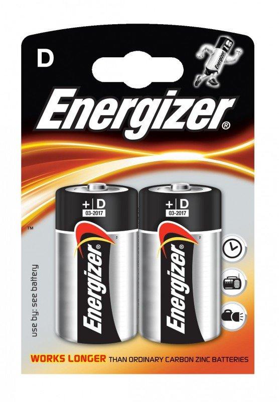 Energizer bateria aklaiczna Lr 20 2 szt - r20