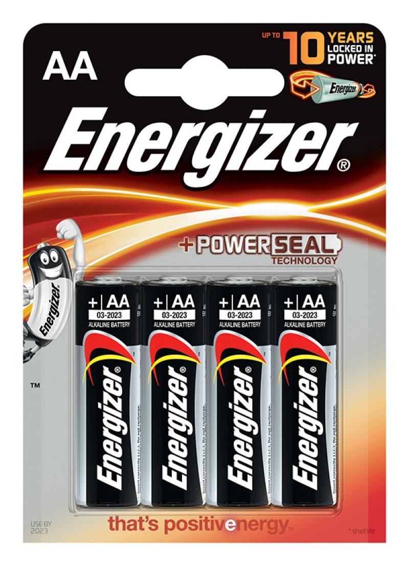 Energizer aklaiczna bateria Lr6 4 szt - paluszki