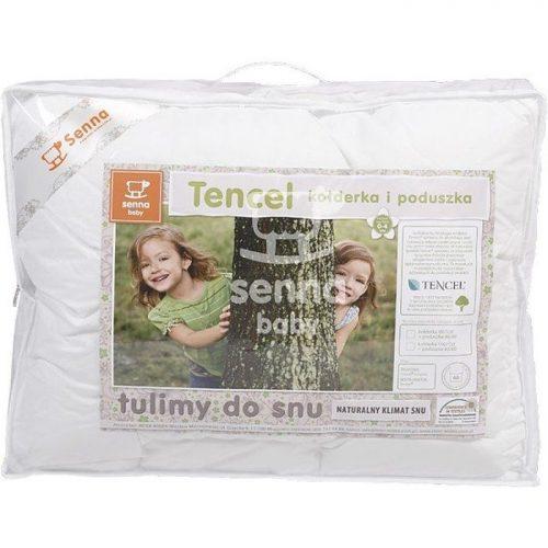 Komplet dziecięcy wypełnienie poduszka 40x60 i kołderka 100x135 Tencel Senna Baby