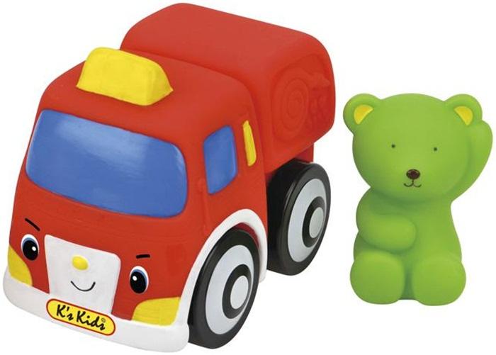 Bezpieczny Wóz strażacki Sama - układanka dla najmłodszych K'S KIDS