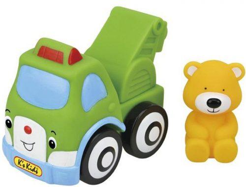 Bezpieczny gumowy samochód Holownik Bobbiego dla najmłodszych K'SKIDS