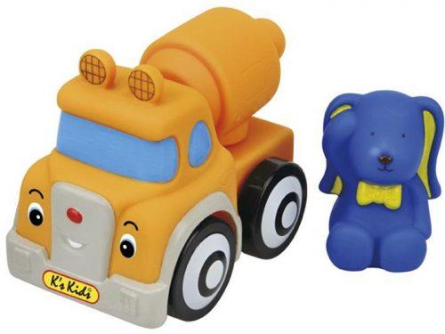 Betoniarka Ivana - gumowy samochód dla niemowląt 12+ Kskids