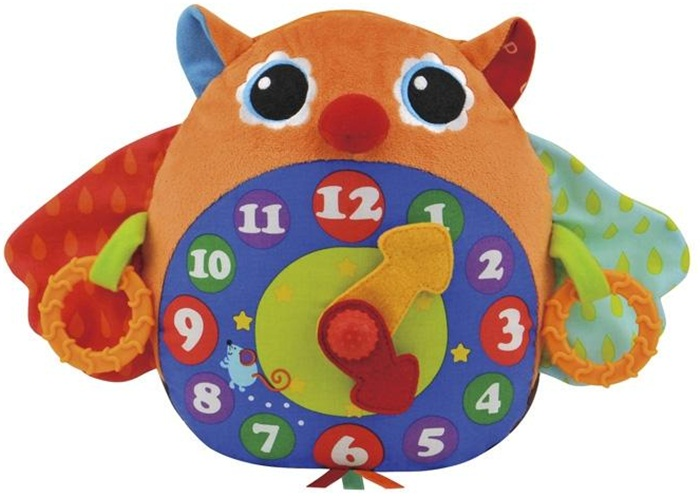 Zegar zabawka grająca - edukacyjna dla dzieci K'S KIDS
