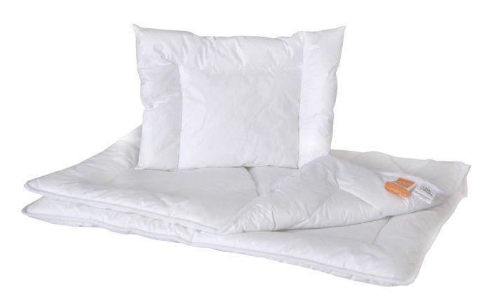 Hollofil wypełnienie do łóżeczka 120 x 60 na lato  Allerban Poldaun