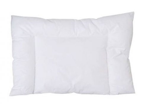 Płaska poduszka do wózka i łożeczka  Poldaun