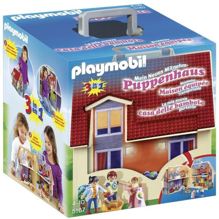 Nowy przenośny domek dla lalek PLAYMOBIL 5167