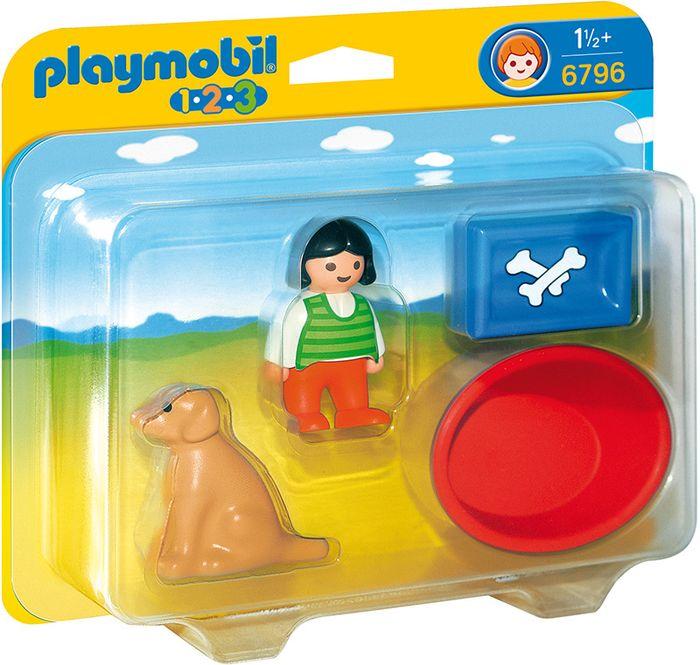 Dziewczynka z psem PLAYMOBIL 6796