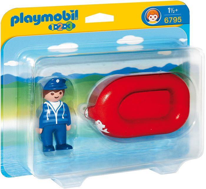 Mężczyzna z pontonem PLAYMOBIL 6795