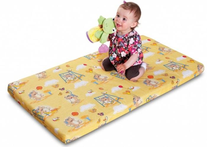 Piankowy materacyk do łóżeczka 140x70 cm, Danpol