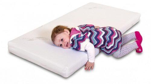 Kokosowy materac do łóżeczka 120x60cm, Danpol