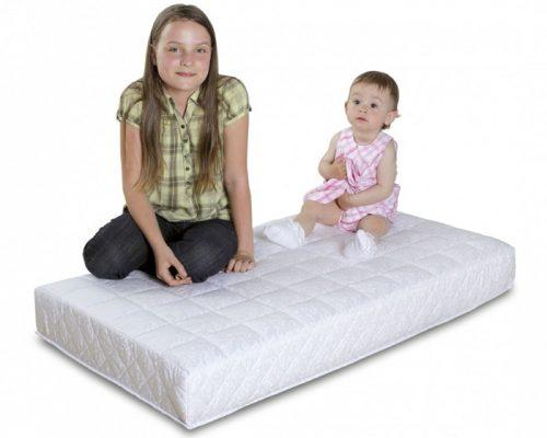 Gruby materac kokos-gryka Gryko-Koko do łóżeczka dziecięcego 120x60, Danpol