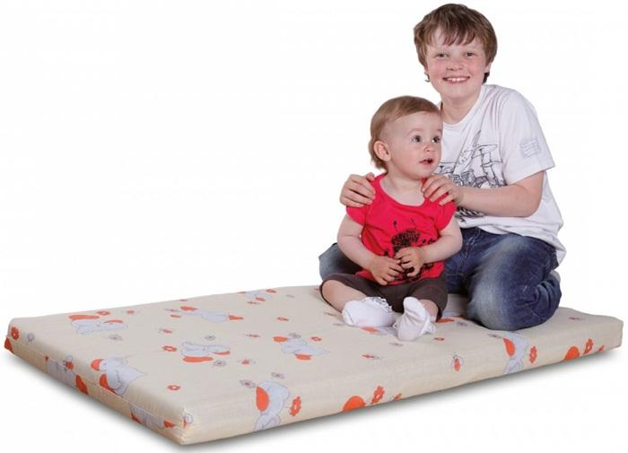 Materac do łóżeczka dziecięcego kokosowo-piankowy 120x60cm, Danpol