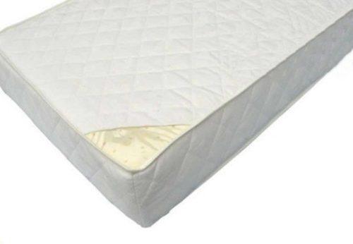 Sprężynowy materac dwustronny lateksowo kokosowy do dziecięcego łóżeczka 120x60cm, Danpol