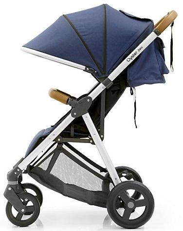 Wózek 3w1 Oyster Zero lekka spacerówka z gondolą Baby Style + fotelik samochodowy z testami ADAC