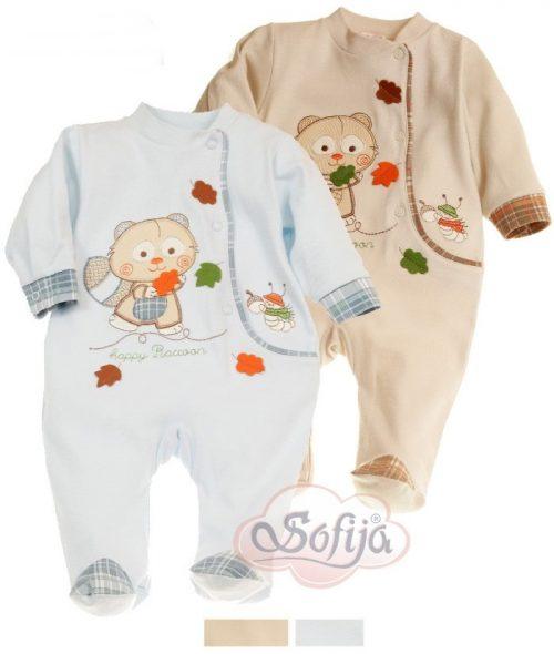 Odzież bawełniana dla dzieci Sofija - pajac Alanek rozmiar 68
