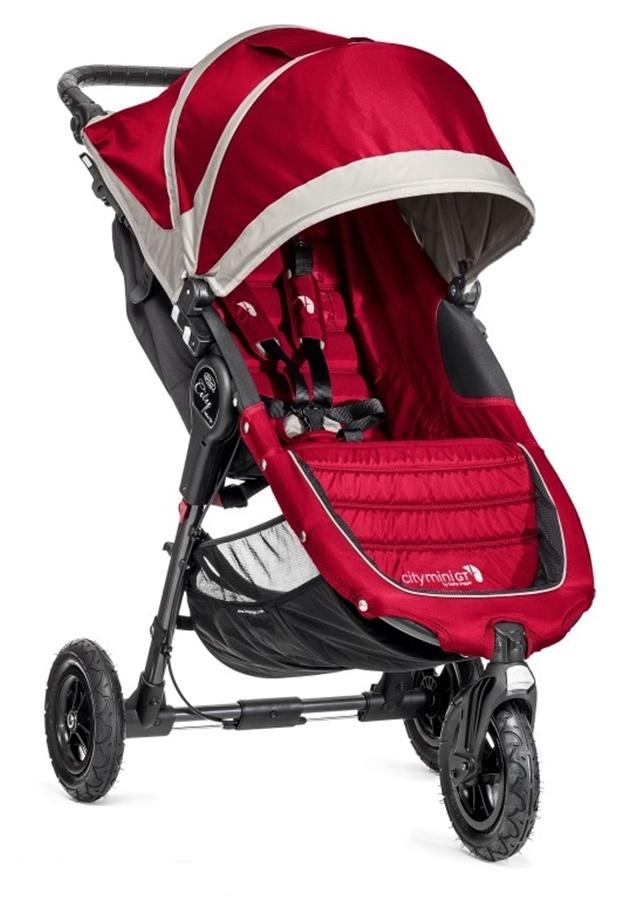 Kompaktowy lekki wózek spacerowy City Mini GT Baby Jogger - koła pompowane + pałąk i folia przeciwdeszczowa