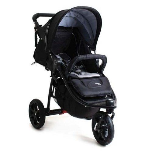 3w1 Trójkołowy wózek głęboko spacerowy na pompowanych kołach Tri Mode X z fotelikiem samochodowym Valco Baby