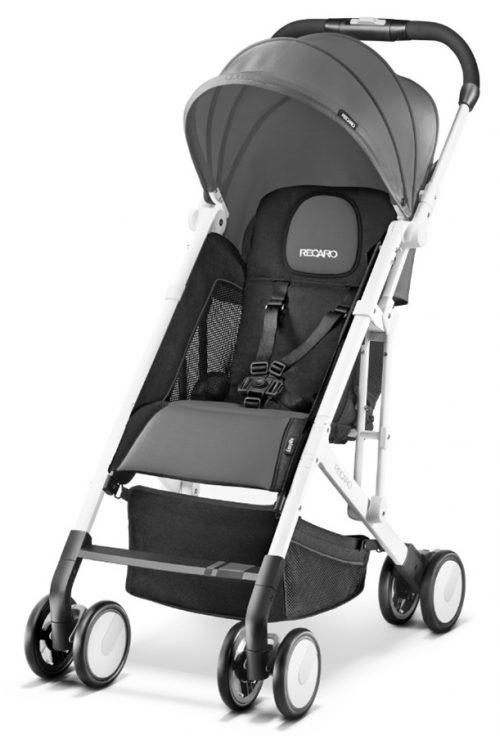 Spacerowy wózek dziecięcy EasyLife White Edition firmy Recaro - 5,7 kg - limitowana edycja