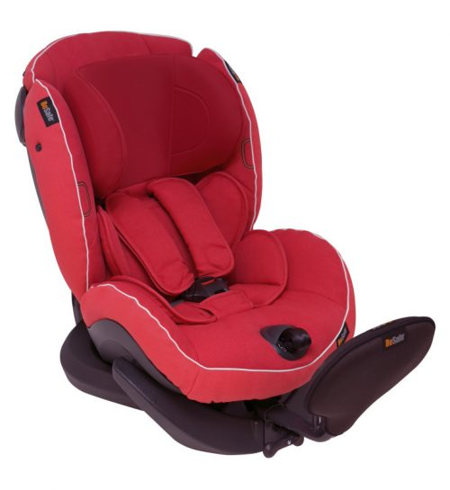Bezpieczny fotelik samochodowy BeSafe iZi Plus 0-25 kg montowany tyłem do kierunku jazdy - Test Plus_Zachód Słóńca 07