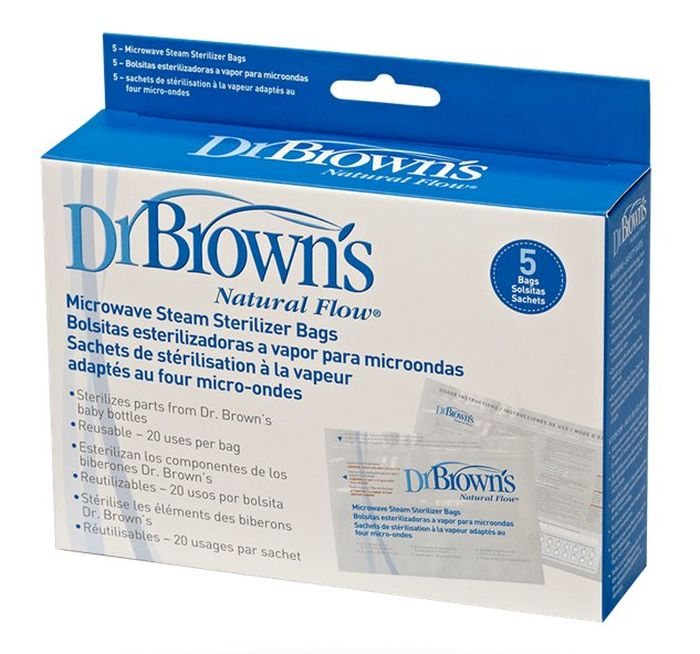 Torebki do sterylizacji Dr Browns, 5 sztuk