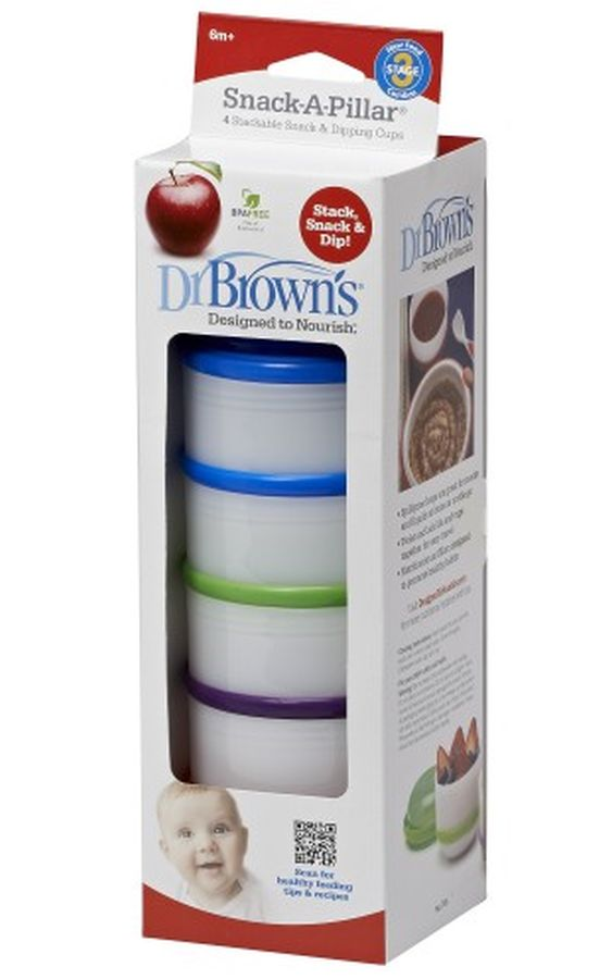 Pojemniki do przechowywania pokarmu Dr Browns