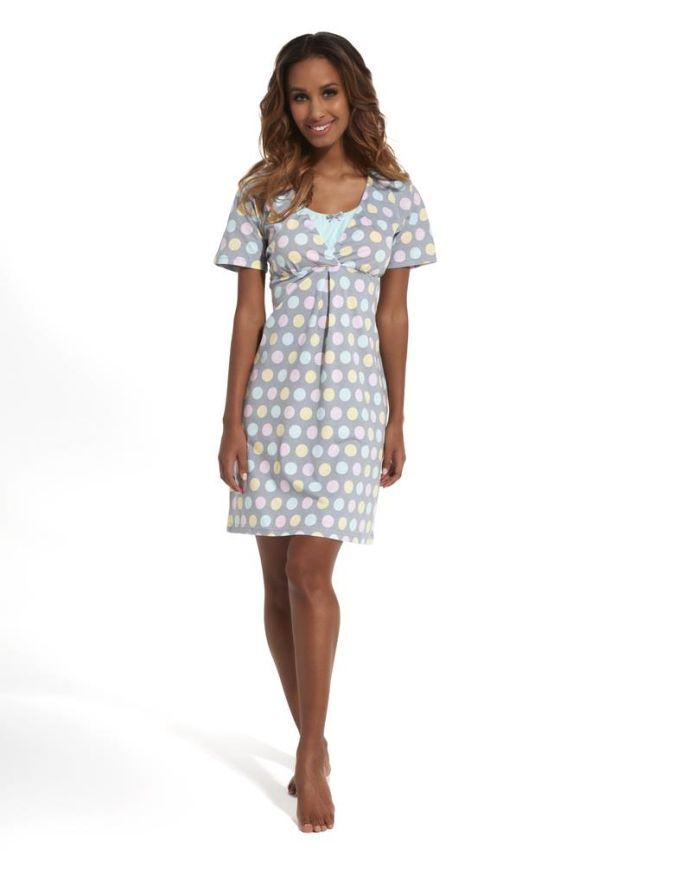 Koszula nocna dla kobiet karmiących lub ciężarnych Pamela, Cornette