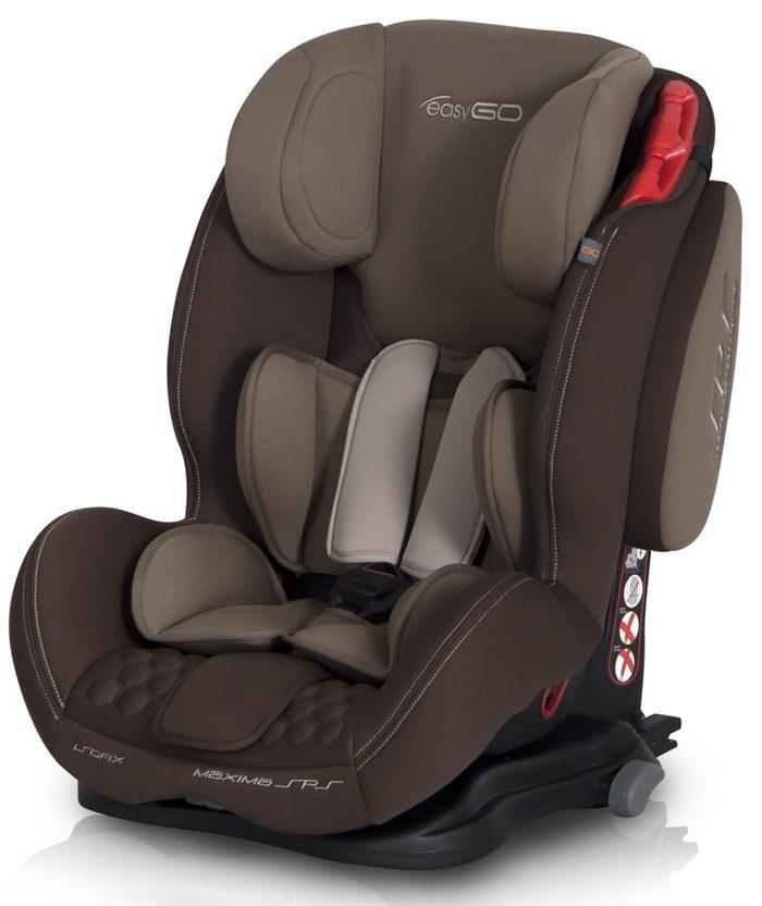 Bezpieczny fotelik dla dzieci 9-36kg Maxima SPS Isofix Easy Go - isofix i górny pas Top Tether