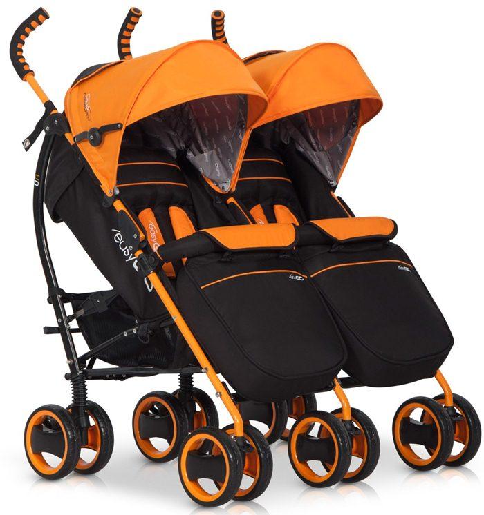 Lekki spacerowy wózek bliźniaczy Duo Comfort, Easy Go