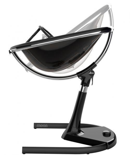 Krzesełko Mima Moon bez podnóżka - stelaż czarny