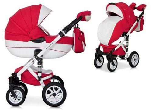 Głęboko spacerowy wózek dziecięcy 2w1 Riko Brano Ecco